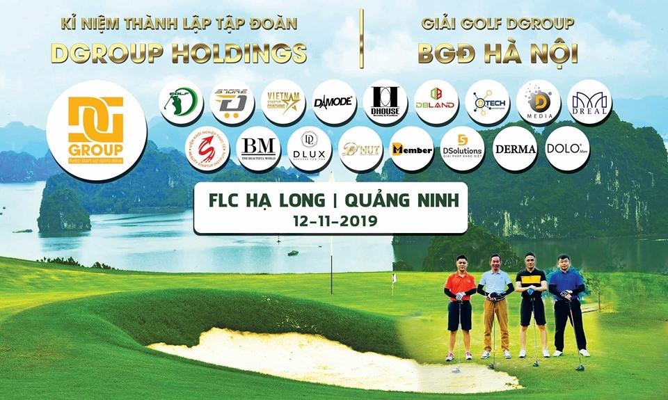 Giải Golf Dgroup Hà Nội –Sân chơi rèn luyện bản thân