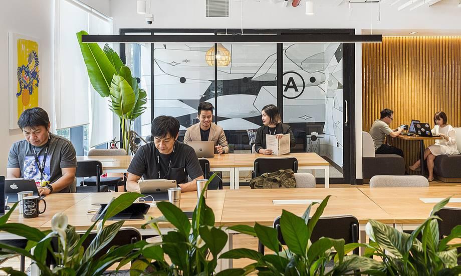 Văn phòng chia sẻ có thể 'sống sót' qua dịch